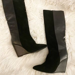 Ted Baker wedged boots